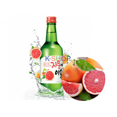 HITE JINRO JINRO Grapefruit Soju (13% Alk.) 360ml 1