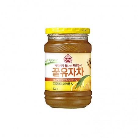 OTTOGI OTTOGI Yuja honey tea (lemon) 500g(BBD : 23/03/2023) 1