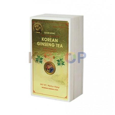 GEUMSAN GEUMHONG GEUMHONG Ginseng Tea Wood Box 3g x 30 1