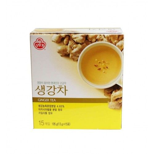 OTTOGI OTTOGI OTTOGI Ginger Tea powder gold 180g (15pcs) 1