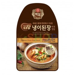 CJ DADAM CJ BEKSUL (RF) CJ BEKSUL Soup Base for Doenjang Jjigae with Shepherds Purse 140g 1