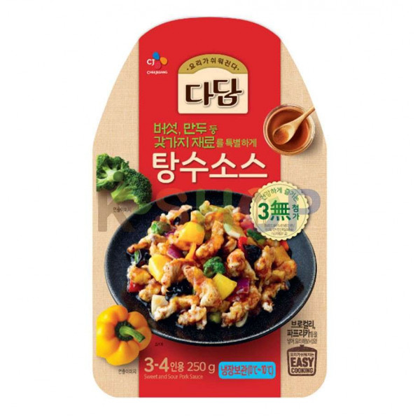 CJ BEKSUL (RF) CJ BEKSUL Sweet and Sour Pork Sauce 250g(BBD: 05/09/2020) 1