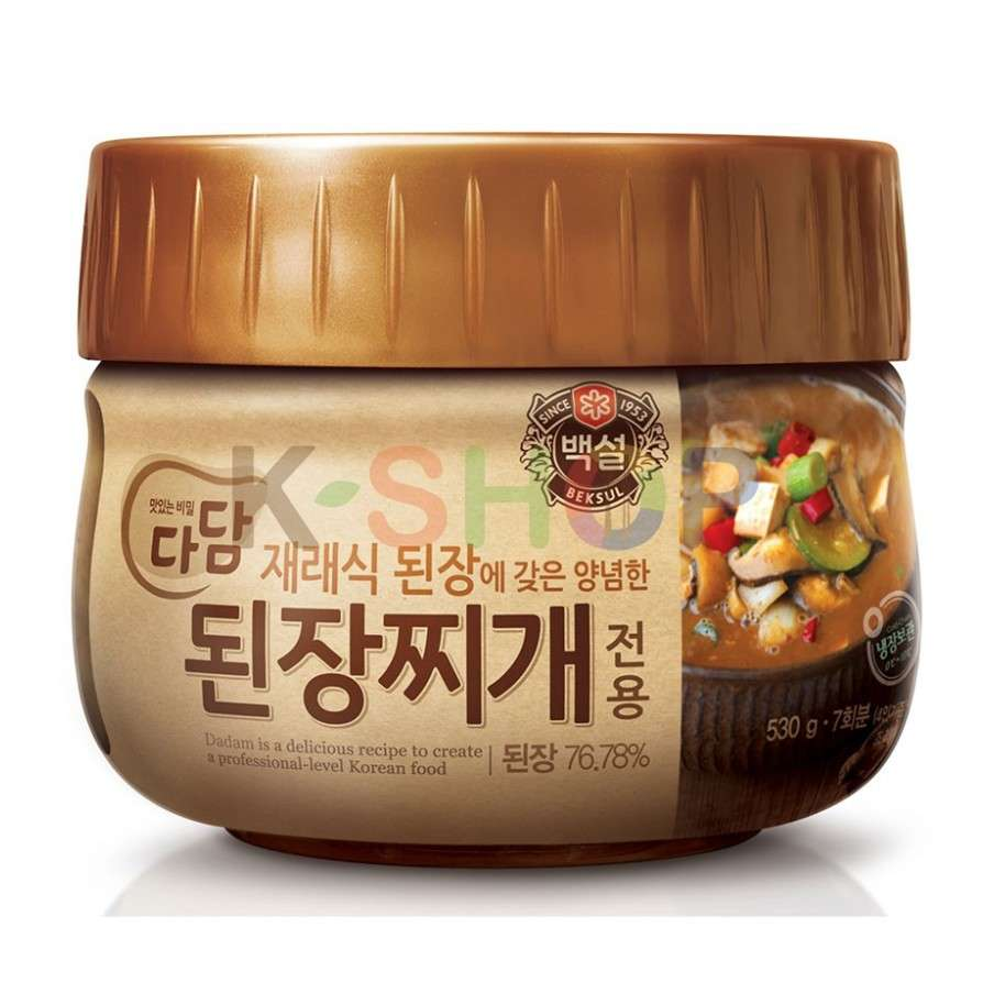 CJ BEKSUL (RF) CJ BEKSUL Soup Base for Doenjang Jjigae 530g 1