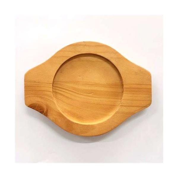 ASSI PANASIA PANASIA Wood Coaster for Korean Pot Ttukbaegi 20cm 1