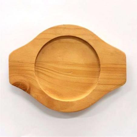 ASSI PANASIA PANASIA Untersetzer für Koreanischen Topf Ttukbaegi aus Holz 20cm 1