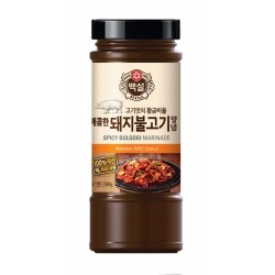 CJ BEKSUL CJ BEKSUL CJ BEKSUL Bulgogi Sauce for Pork spicy 840g 1