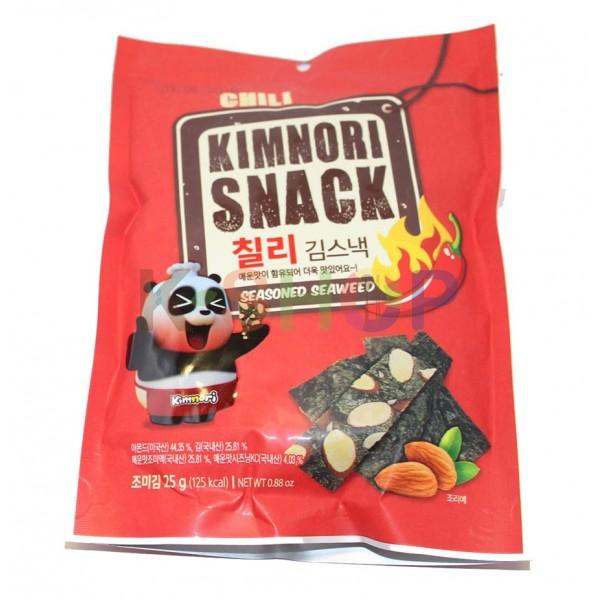 KWANGCHEON KWANGCHEON KWANGCHEON seasoned Seaweed Chili 25g 1