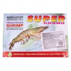 PANASIA PANASIA (FR) PANASIA Black Tiger Shrimp 26/30 in Block HLSO 1.8kg 1