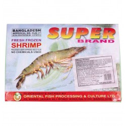 PANASIA PANASIA (FR) PANASIA Black Tiger Shrimp 21/25 HLSO in Block 1.8kg 1