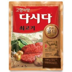 CJ BEKSUL CJ BEKSUL Beef flavoured seasoning Dasida 100g 1