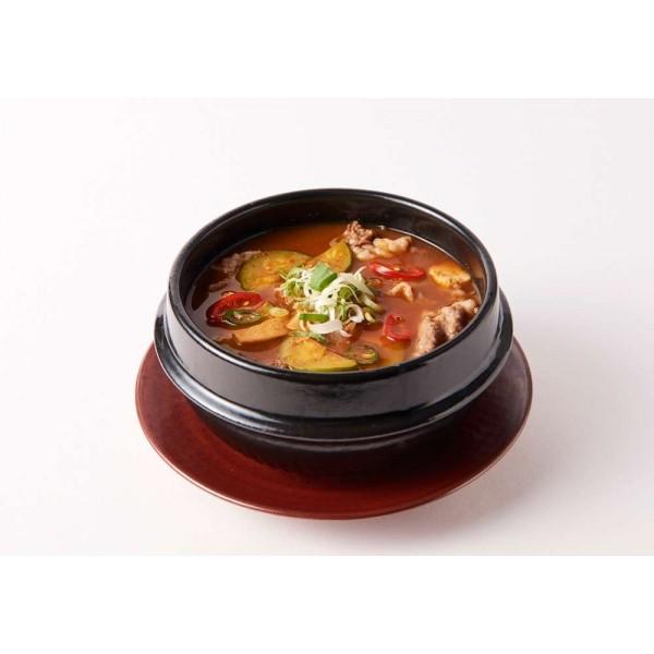 HANSUNG HANSUNG (K-FOOD) HANSUNG Brisket Soup with Soybean Paste Deonjang-Jjigae 850g 1