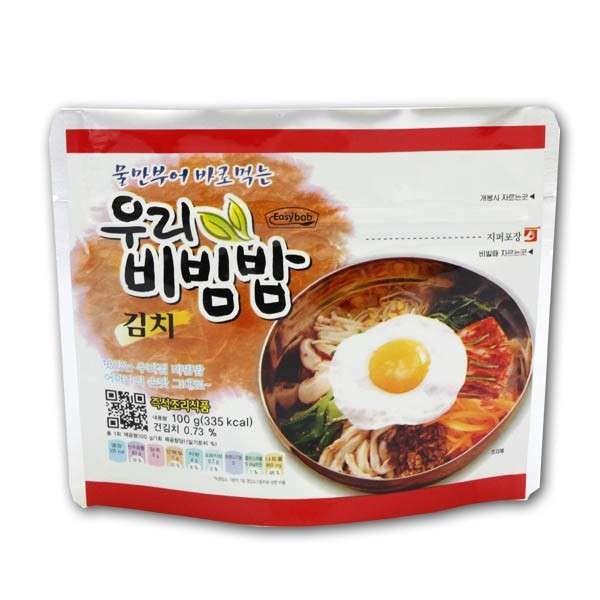 CJ HETBAN  WOORI Bibimbap Kimchi flavour 100g 1