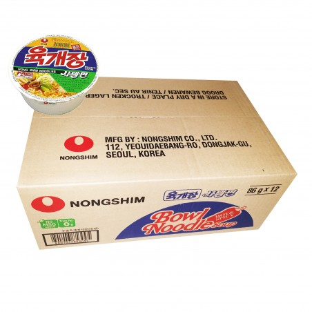 NONG SHIM NONG SHIM NONGSHIM Cup Nudeln Yukejang 86g X12 (1BOX) 1