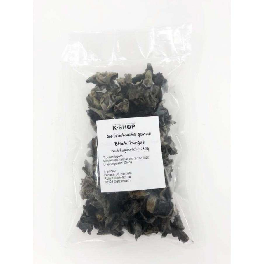 SUBIN HANSUNG (K-FOOD) Dried Black Fungus 80g 1