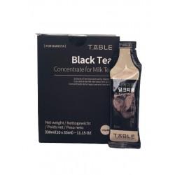 T'ABLE  T'able Schwarz Tee Konzentrat für Milchtee (33ml x10) 1