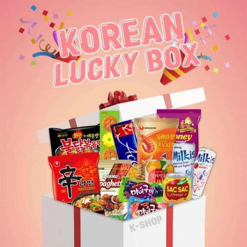 SEMPIO NONG SHIM Korean Lucky Box - ramen, drinks, snacks and more 1