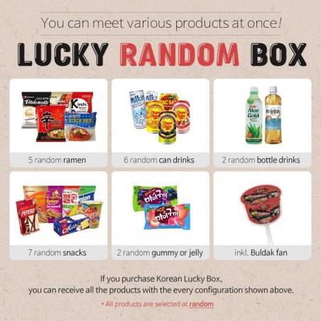 SEMPIO NONG SHIM Korean Lucky Box - ramen, drinks, snacks and more 1
