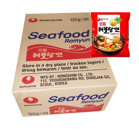 NONG SHIM NONG SHIM NONGSHIM Instant Nudeln Seafood 125gx20 (BOX)(MHD : 06/05/2021) 1