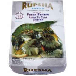 PANASIA PANASIA (FR) PANASIA Black Tiger Shrimp 26/30 in Block HLSO 1.8kg 1
