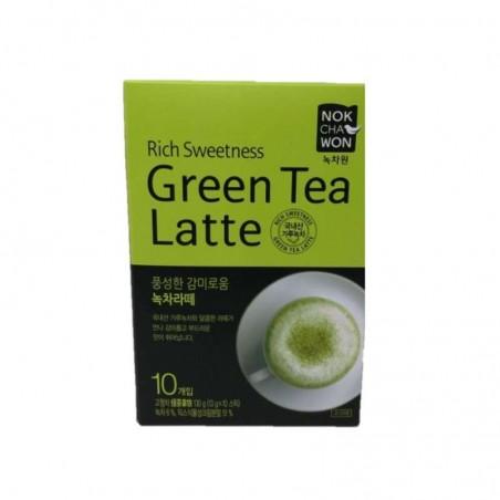 TEA TSUBOICH  NOCHAWON Green Tea Latte 130g 1