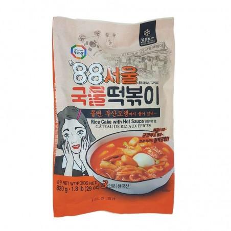 HANSUNG  (냉동) 수라상 88 서울 국물 떡볶이 820g 1