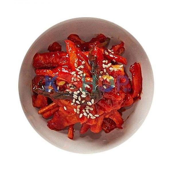HANSUNG HANSUNG (냉동) (케이푸드) 무말랭이무침 200g 1