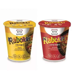 Ganjang Rabokki + Red peper paste Rabokki 1