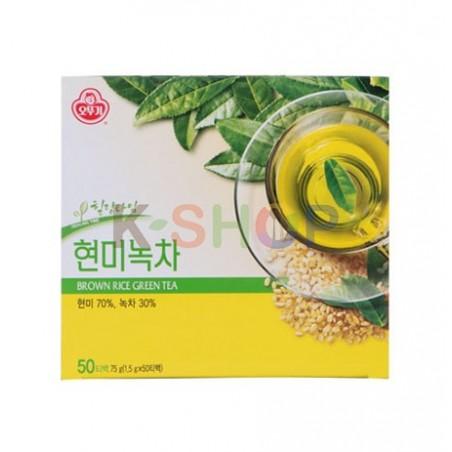 OTTOGI OTTOGI OTTOGI Green Tea with Brown Rice Genmaiteein Pouch 1.5g x 50 1