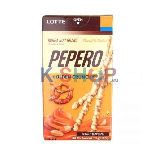 LOTTE LOTTE Pepero Golden Crunchy 32g 1