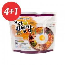 CJ HETBAN EASYBAB 4+1 WOORI Bibimbap mushroom flavour 100g 1