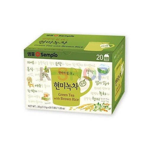 SEMPIO SEMPIO SEMPIO Green Tea with Brown Rice (1,5g x 20) 1
