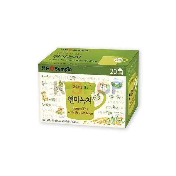 SEMPIO SEMPIO SEMPIO Grüner Tee mit braunem Reis (1,5g x 20) 1