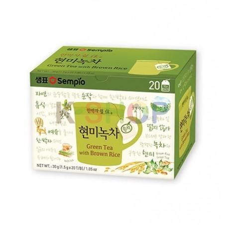 SEMPIO SEMPIO SEMPIO Green Tea with Brown Rice (1,5g x 20) 1