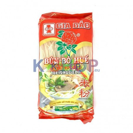 GIA BAO  GIA BAO Rice Noodle Hue 1.5mm 500g 1